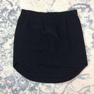 Madewell Silk Mini Skirt w/ Pockets